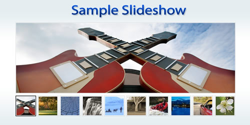 How to Create a Simple Slideshow using Mootools / JQuery