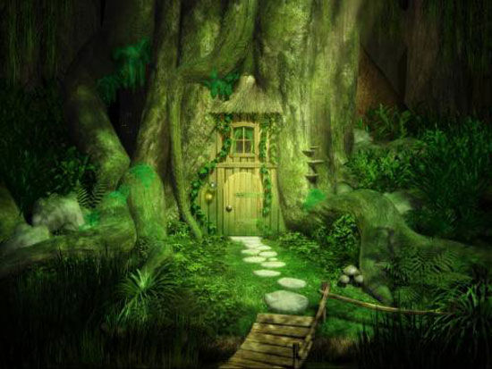 Amidst the Forest: Green Fairy Homes