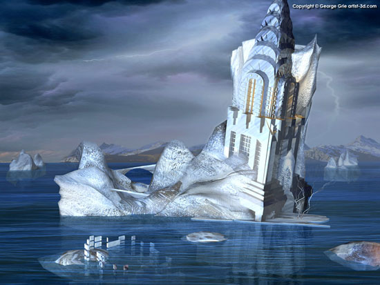 Iceberg or Castle?