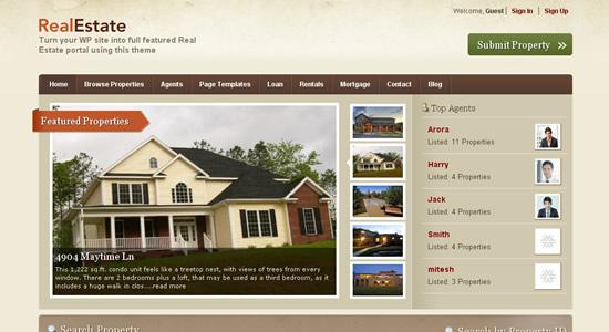 Templatic Real Estate
