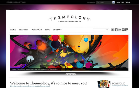 Themeology - Portfolio and Blog Theme