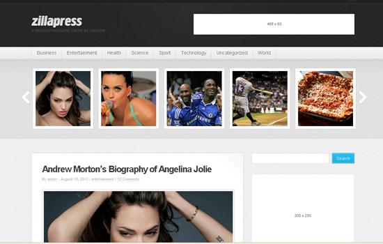 ZillaPress - WordPress Magazine / Community Theme