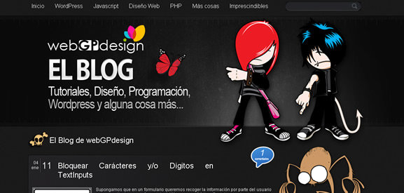 El Blog de webGPdesign
