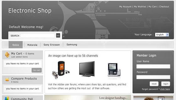 Electronics Store 3