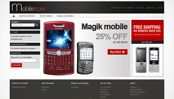 Magik Mobile Store