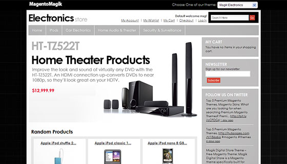 Magik Electronics Store