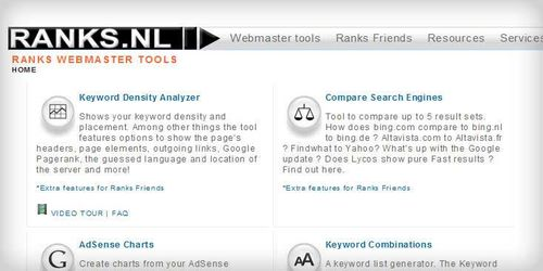 ranks.nl - Ranks Webmaster Tools