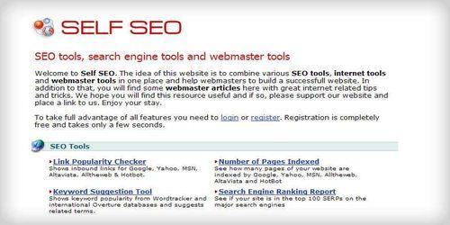 Selfseo SEO tools