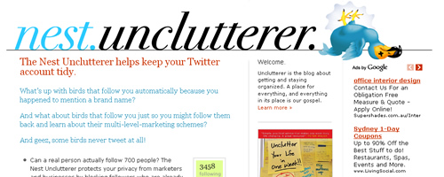 Nest Unclutterer