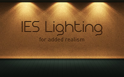 How to Create a Realistic IES Lighting Effect in Photoshop