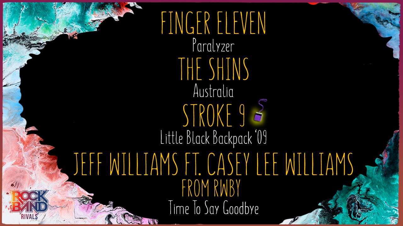 DLC Week of 11/01: Finger Eleven, The Shins, Stroke 9, and Jeff Williams ft. Casey Lee Williams!