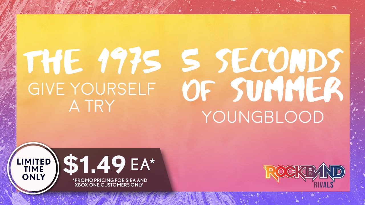 DLC Week of 8/02: The 1975 and 5 Seconds of Summer!