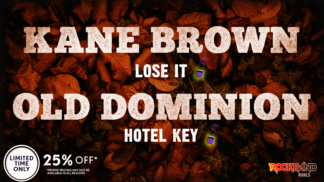 DLC Week of 12/13: Kane Brown and Old Dominion!