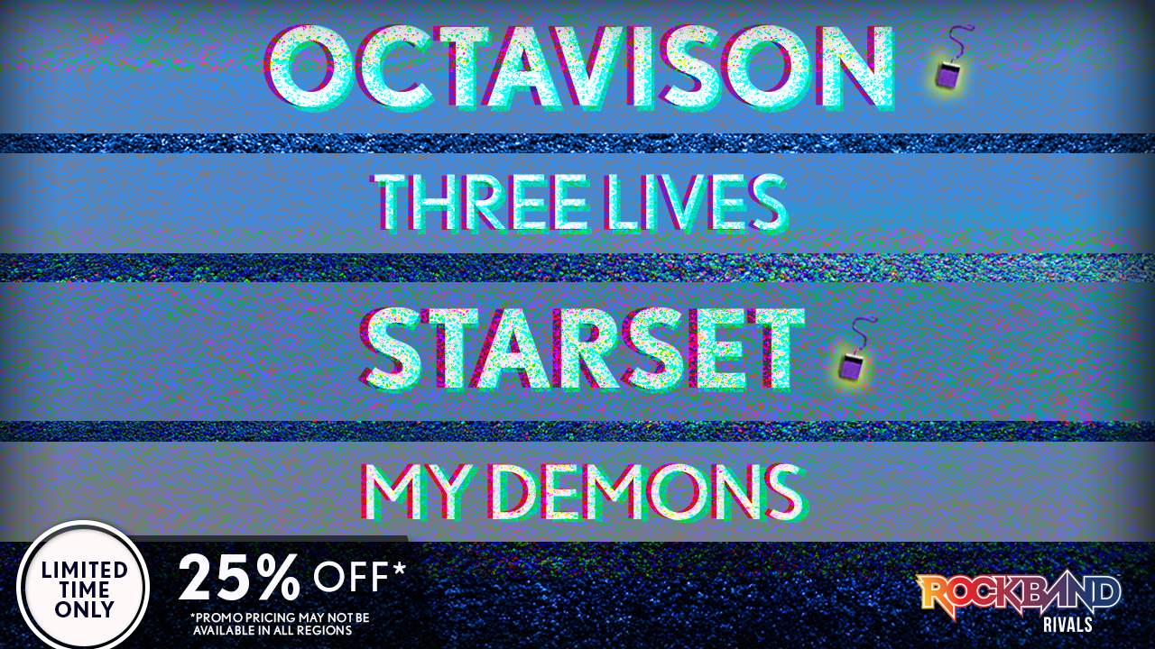 DLC Week of 10/25: Octavision and Starset!