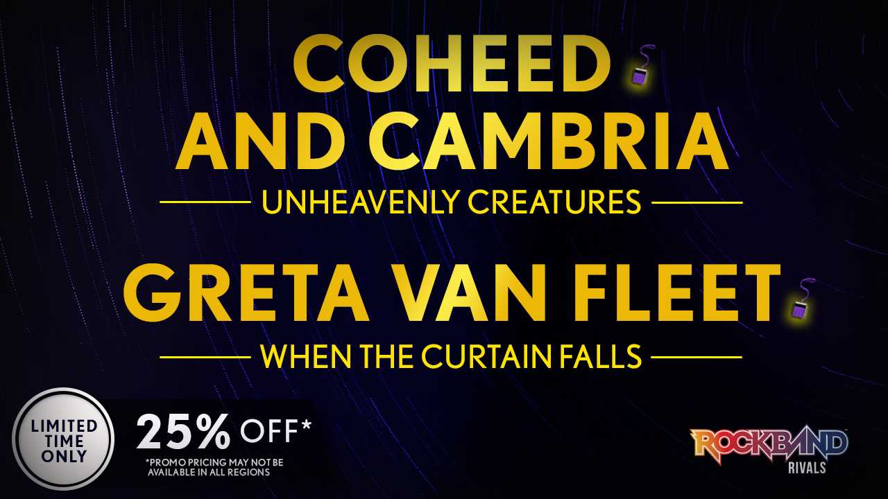 DLC Week of 9/27: Coheed and Cambria and Greta Van Fleet!