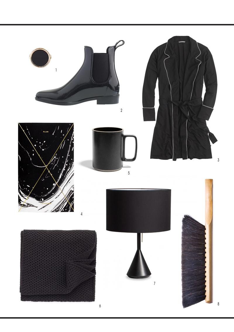 black beauties // essentials