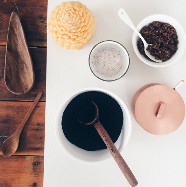 Coffee Scrub // A Homemade Gift