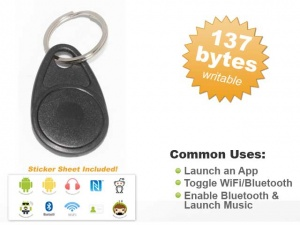 NFC Key Chain - Mifare Ultralight C
