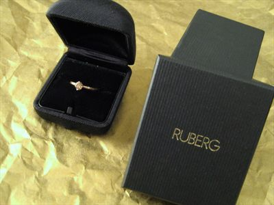 Engagement Ring from Ruberg