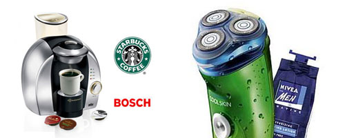 Starbucks Bosh Philips Nivea