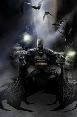 Batman Colored by pochrzas