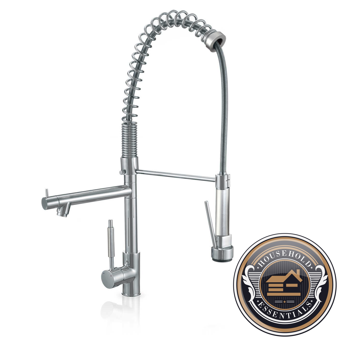 27 Tall Pull Down Kitchen And Bar Faucet Single Hole Handle Ebay