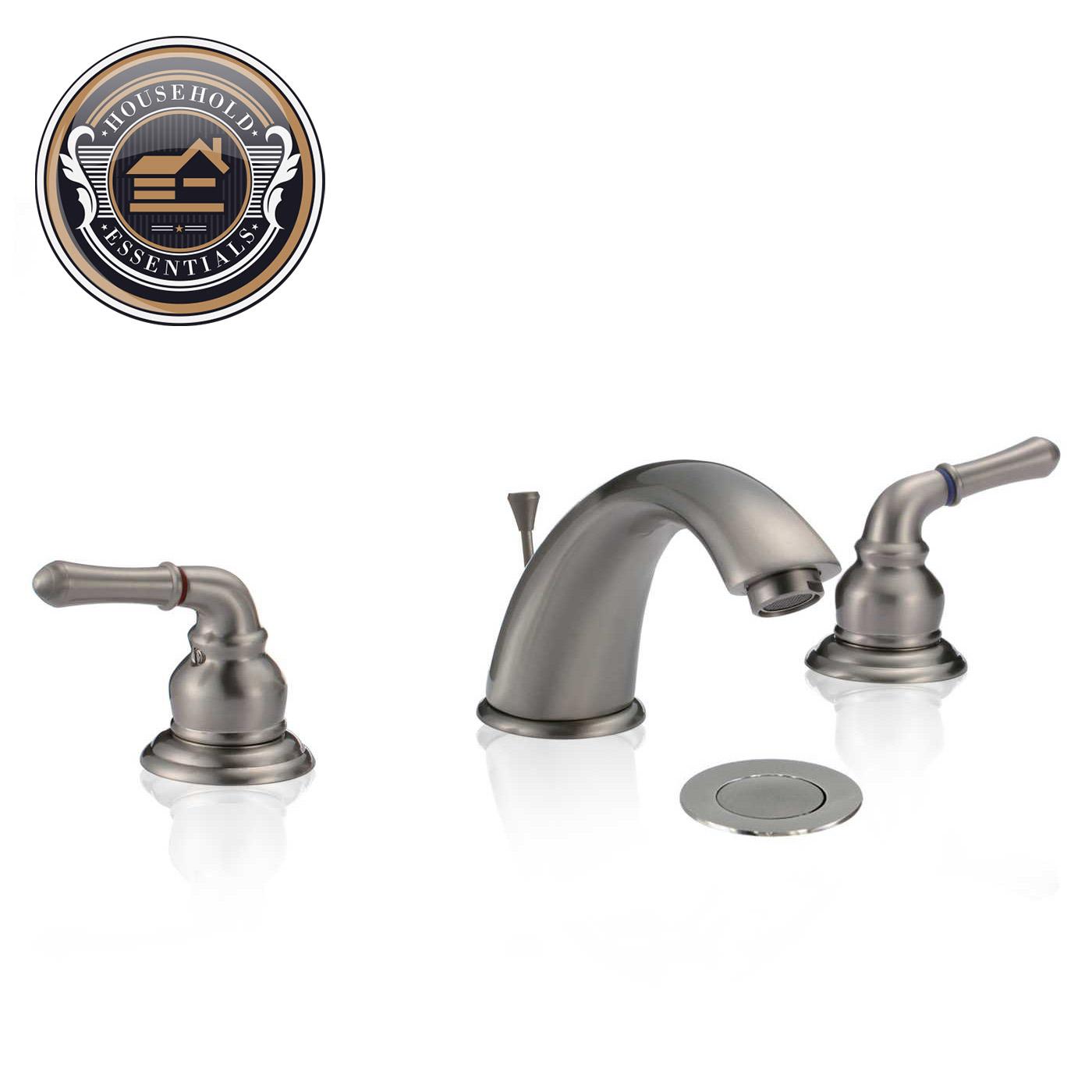 8 Widespread Bathroom Sink Faucet With Drain Ebay
