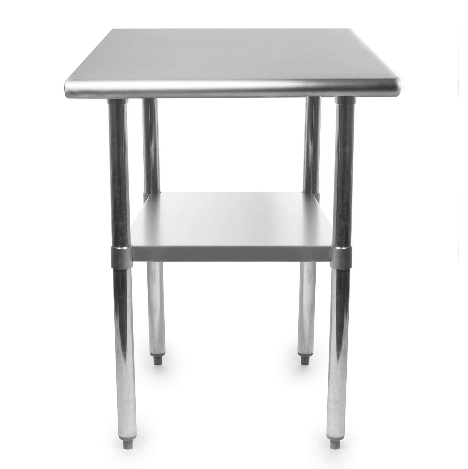 stainless steel commercial kitchen work food prep table 24 x 30