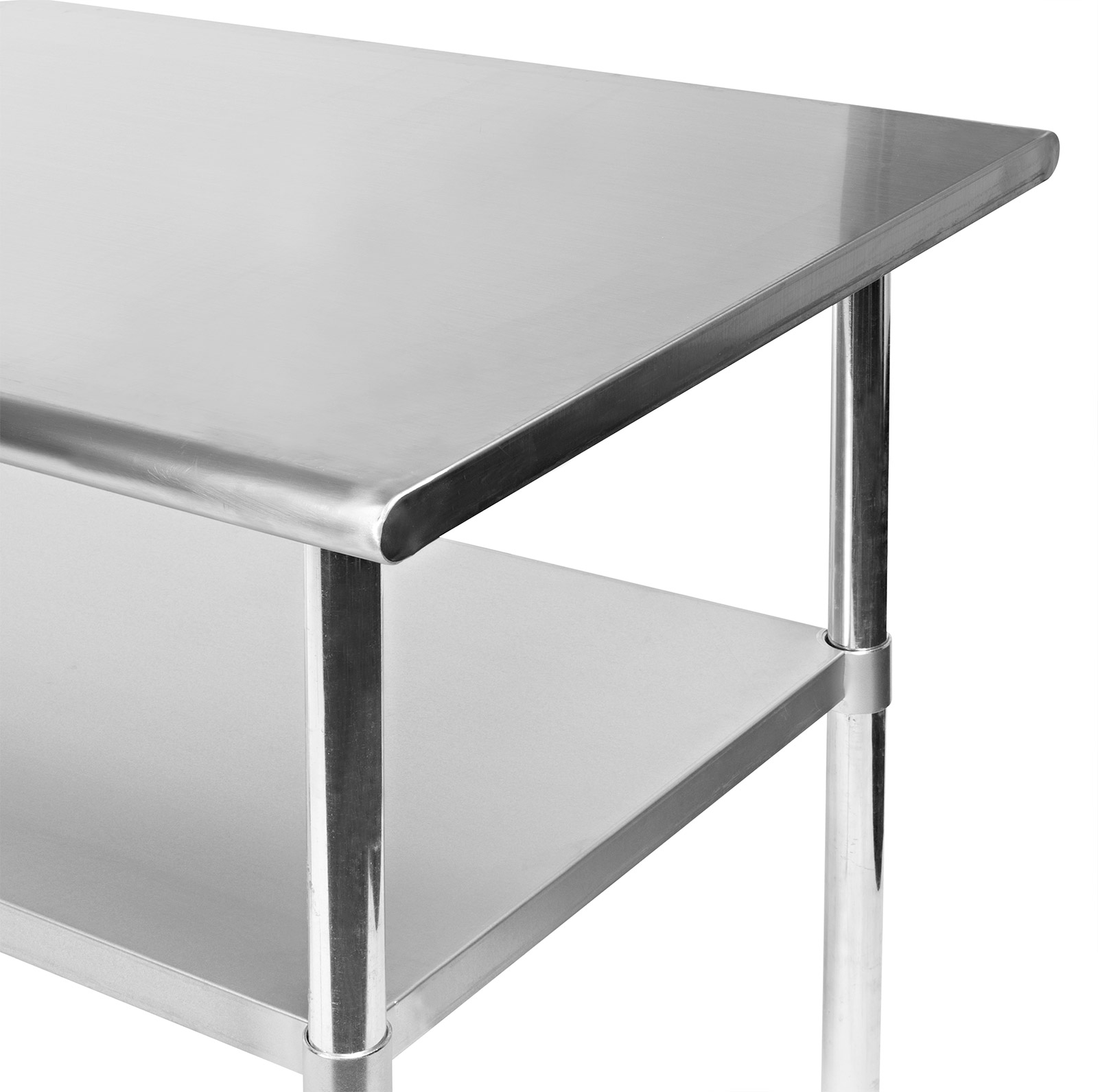 Stainless steel commercial kitchen work food prep table 24 x 30 ebay - Stainless kitchen tables ...
