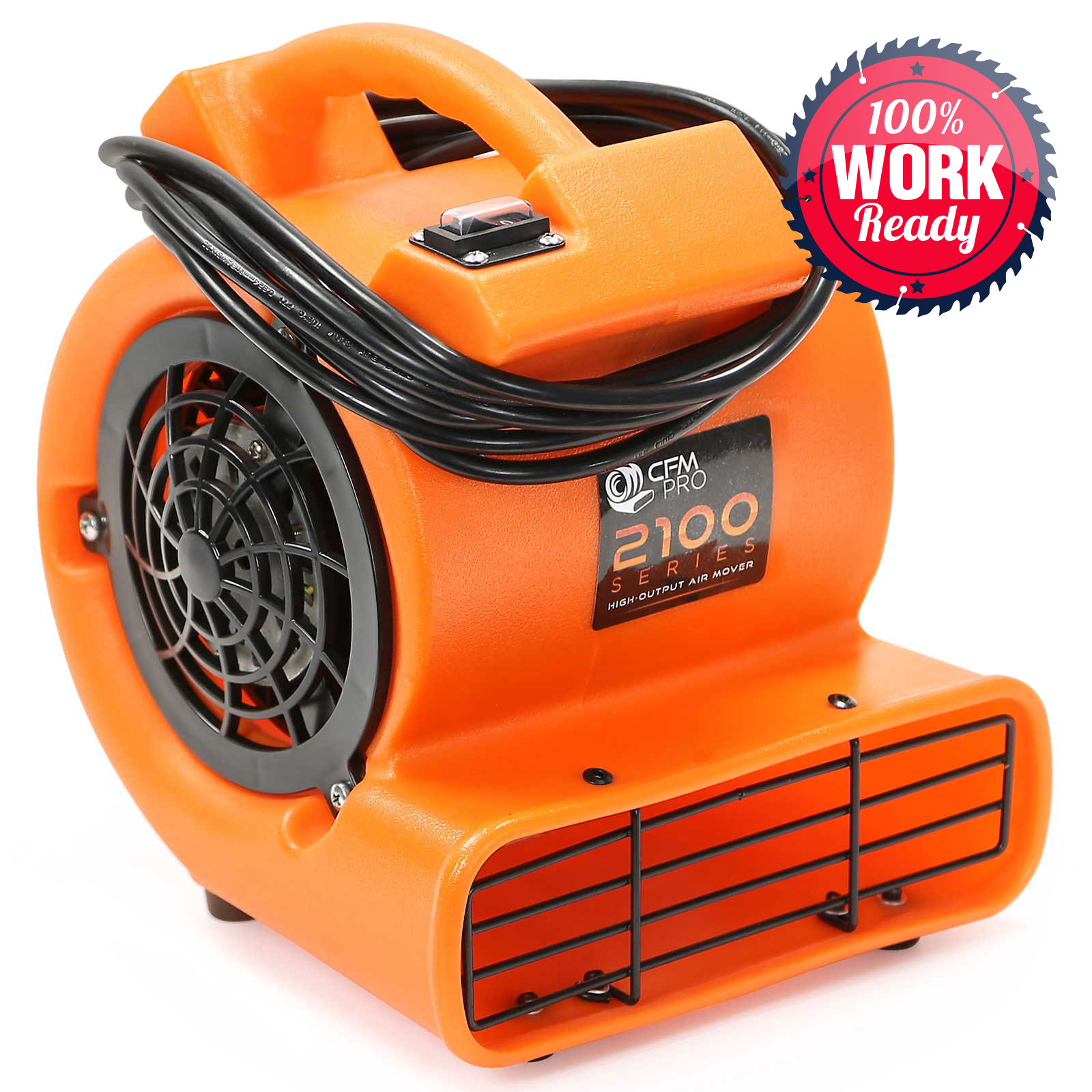 Small Industrial Fans And Blowers : Air mover blower carpet dryer floor drying industrial fan