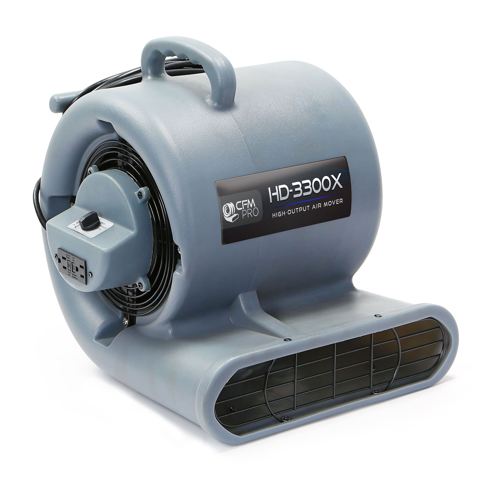 Floor Drying Fans : Carpet dryer air mover blower floor drying industrial fan