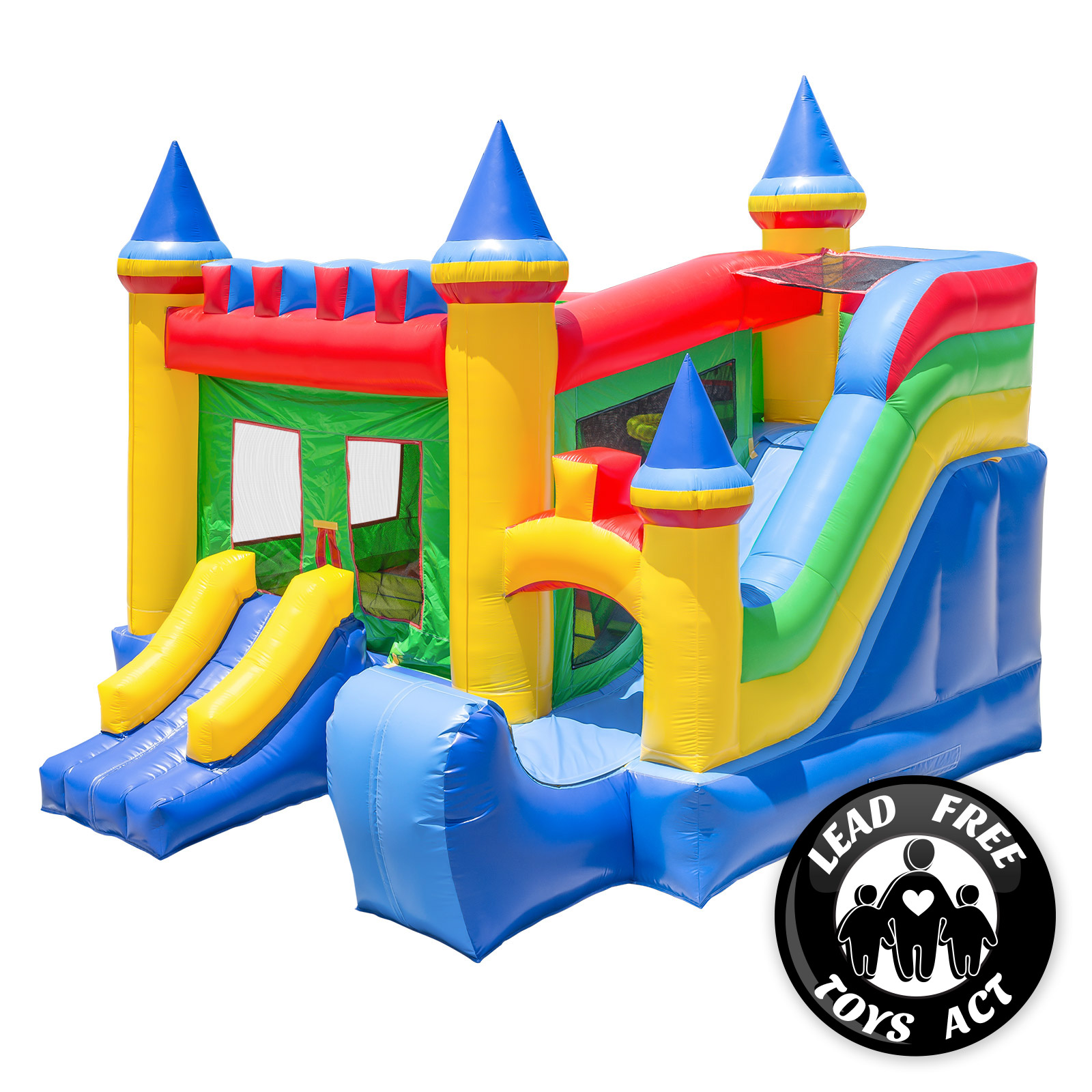Inflatable Slide Blower: Commercial Grade Bounce House Inflatable Castle Kingdom