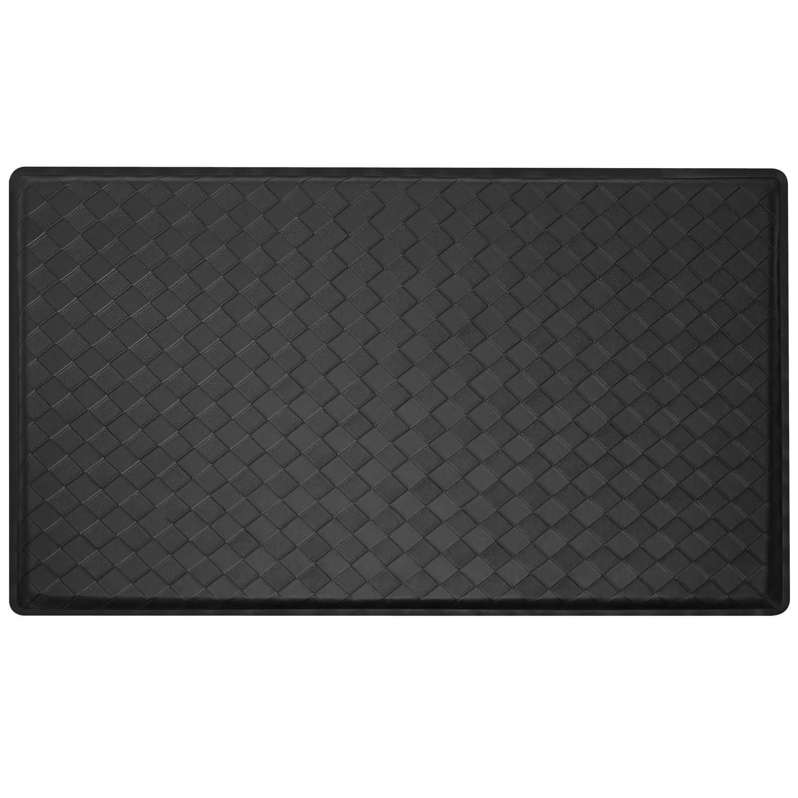 2 x 3 modern anti fatigue kitchen floor mat rug basket