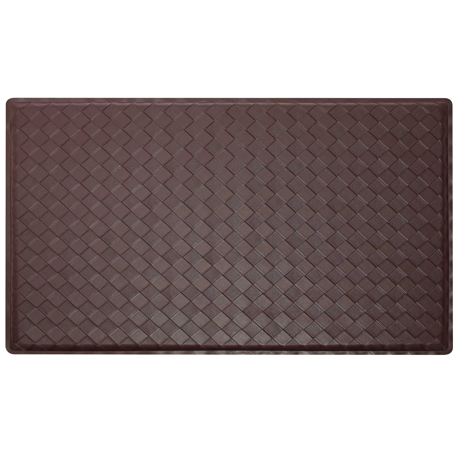 2 39 X 3 39 Modern Anti Fatigue Kitchen Floor Mat Rug Basket Weave Ebay