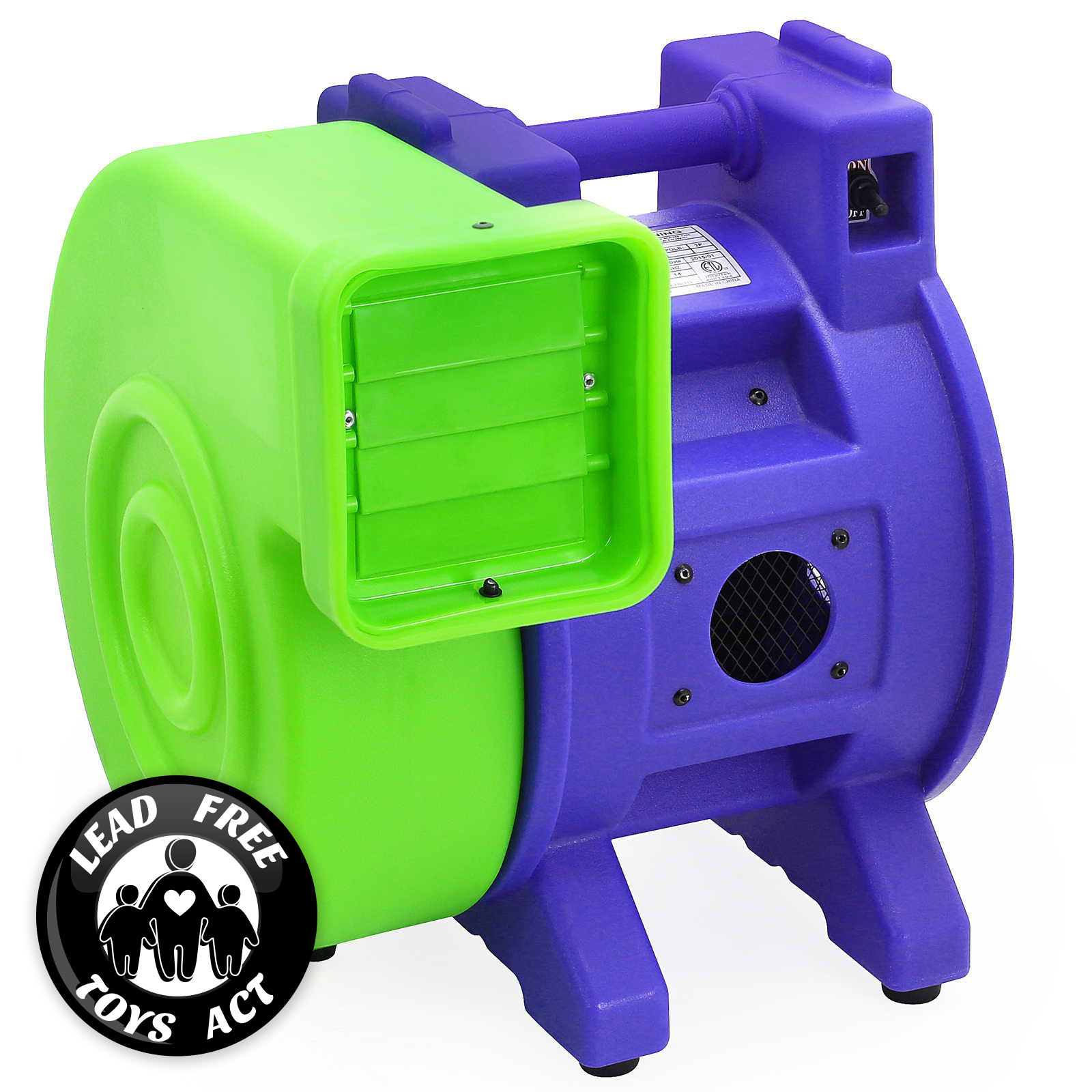 Inflatable Slide Blower: Commercial Inflatable Bounce House Air Pump Blower Fan