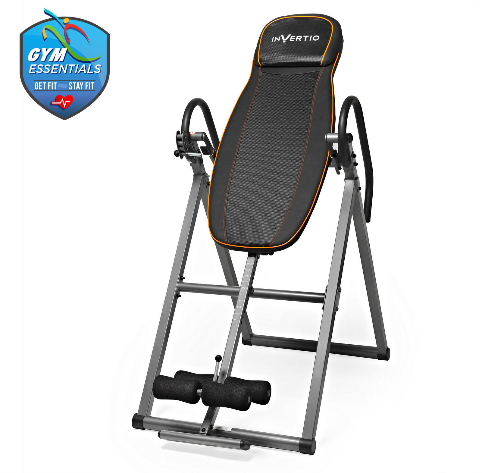 Folding inversion table gravity adjustable back fitness for 1201 back therapy inversion table