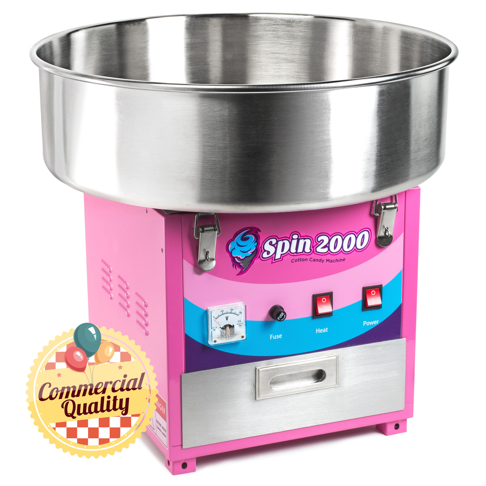 Cotton Candy Machine and Electric Candy Floss Maker ...