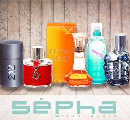 10% em perfumes nas compras acima de R$ 199!