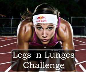 "Challenges > Blogilates.com ""Lolo Jones Legs 'n Lunges"" Challenge"