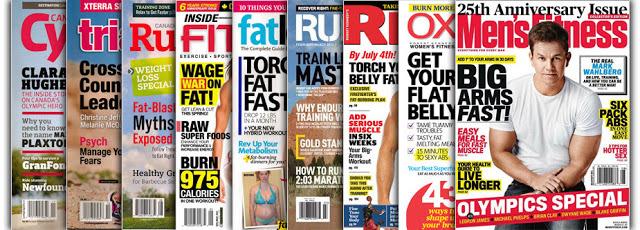 Top Fitness Magazines that Jon-Erik Kawamoto has written for
