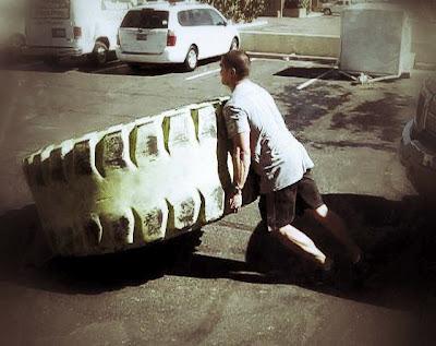 Jon Kawamoto Tire Flip