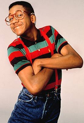 but White nailed it so Jaleel White Muscles