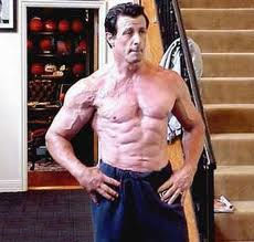 Sylvester Stallone Jacked
