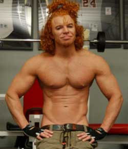 Carrot Top Jacked