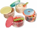 VitaMinder Fit & Fresh Smart Portion Chill Containers, 10 Piece Set, 2 Cup