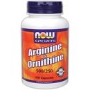 100 Capsules - NOW Arginine & Ornithine