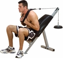 Body-Solid Powerline Ab Bench, Free Shipping!