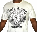 Buff Body Athletics Tee, XL, White