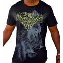 Buff Body Winged Lion Head, Large, Black
