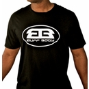 Buff Body Logo Tee, XXL, Black